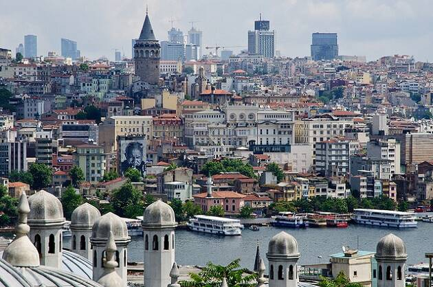 Una vista de Estambul. / Caribb (Flickr, CC),estambul