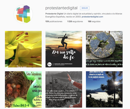 Protestante Digital está en Instagram.