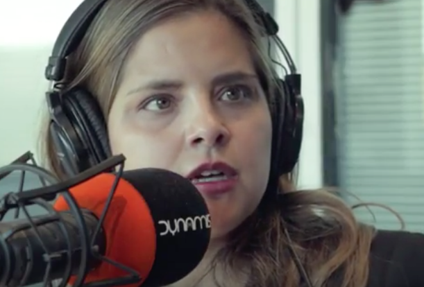 Patricia Sandoval, en Dynamis Radio. / Youtube,patricia sandoval