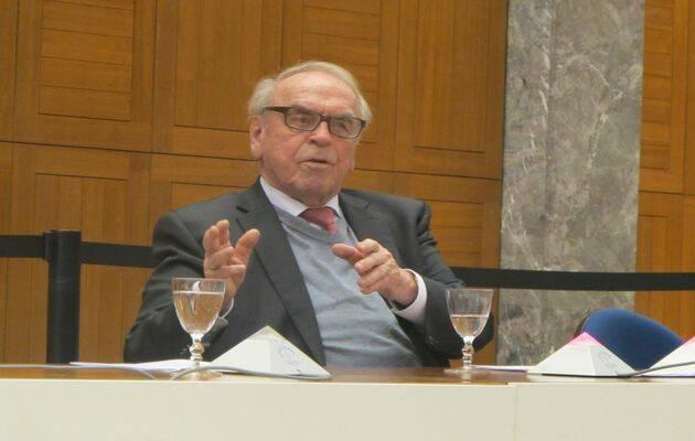 Jürgen Moltmann cumple 90 años.,