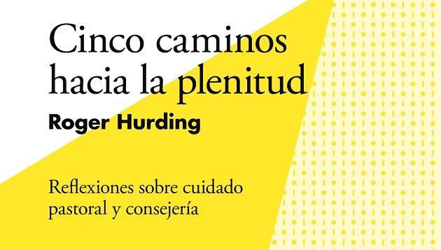 Detalle de la portada del libro. ,roger hurding, andamio, cinco caminos, plenitud