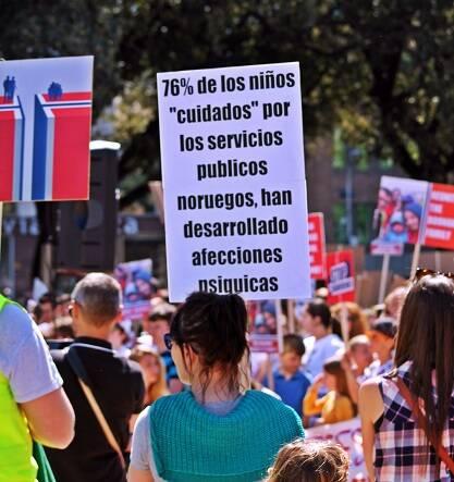 550 personas acudieron a la concentración. Foto: S.M.
