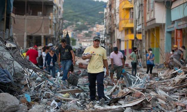 La devastación tras el terremoto es grave. Algunas ciudades tendrán que ser reconstruidas casi en su totalidad. / Samaritan's Purse,ecuador terremoto