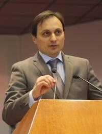 Giacomo Ciccone, durante su intervención. / J. Forster