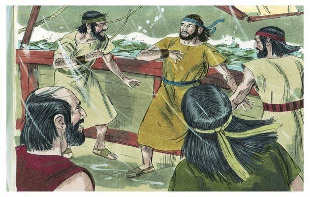 Tú eres el culpable, nuestra vida está en peligro por tu causa, le decían a Jonás,