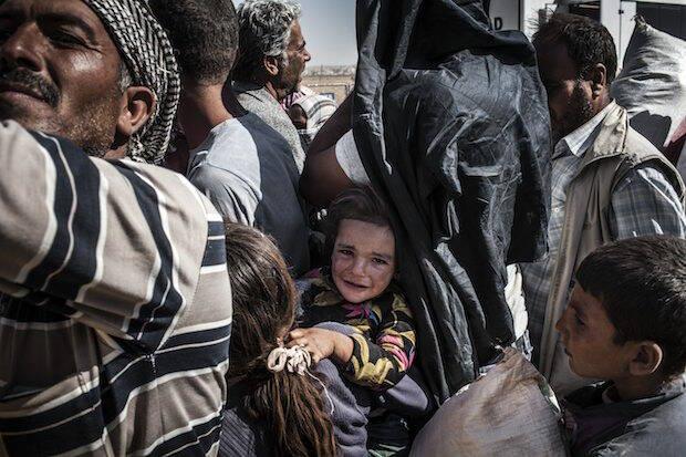 Refugiados sirios, en 2014. / Sandra González, Flickr,refugiados sirios
