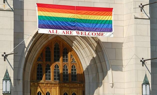 Una iglesia metodista en EEUU a favor del movimiento homosexual.,iglesia metodista eeuu homosexuales