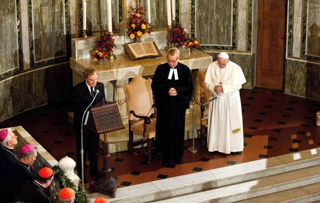 Encuentro luterano católico en Italia / Imagen de archivo,Papa Francisco, Iglesia luterana