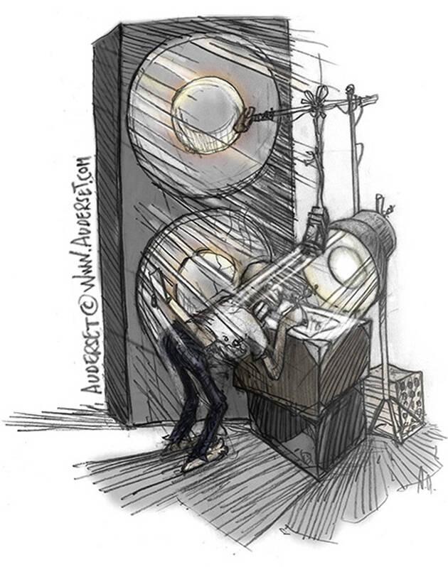 Ilustración: Alain Auderset,alain auderset