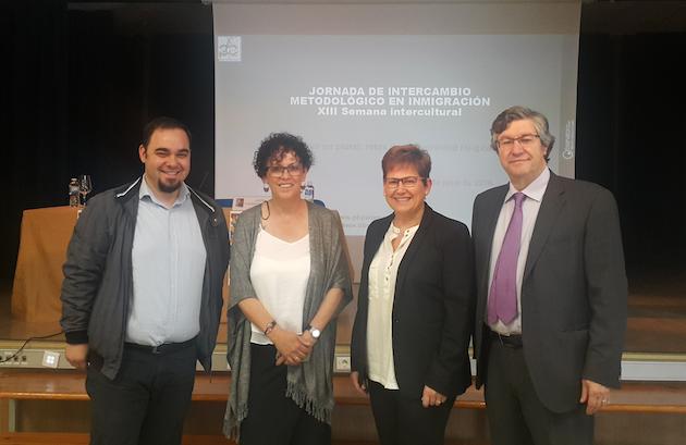 Participantes de la Jornada de Intercambio Metodológico en inmigración, en Valladolid.,dialogo valladolid
