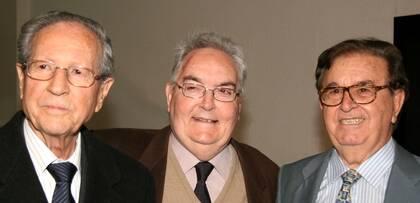 J.M. Martínez, J. Grau y J.A. Monroy
