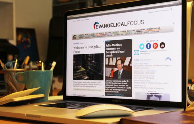 Evangelical Focus se lanzó en enero de 2015. ,