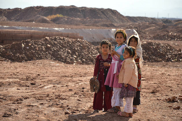 Refugiados afganos en Irán. / EU,ECHO Pierre Prakash (CC, Flickr),refugiados iran