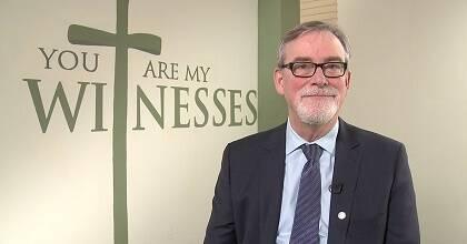 Michael Thompson, secretario general de la Iglesia Anglicana de Canadá.