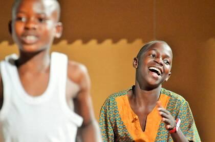 El coro Safari, en Terrassa. Foto: J. Torrents.