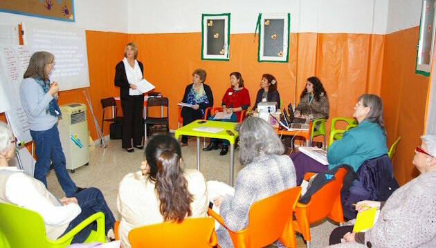 Uno de los cursos de formación para consejeros sobre embarazo y post-aborto. / Sifra,sifra aborto