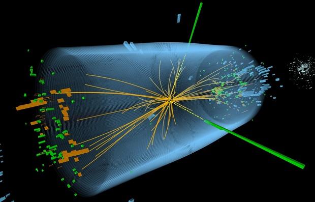 <p> Registro de un bos&oacute;n de Higgs. / CERN</p> ,