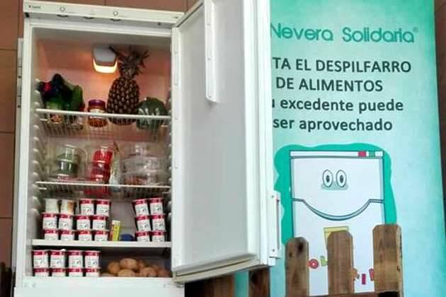 La nevera solidaria de Zaragoza,nevera solidaria, Zaragoza