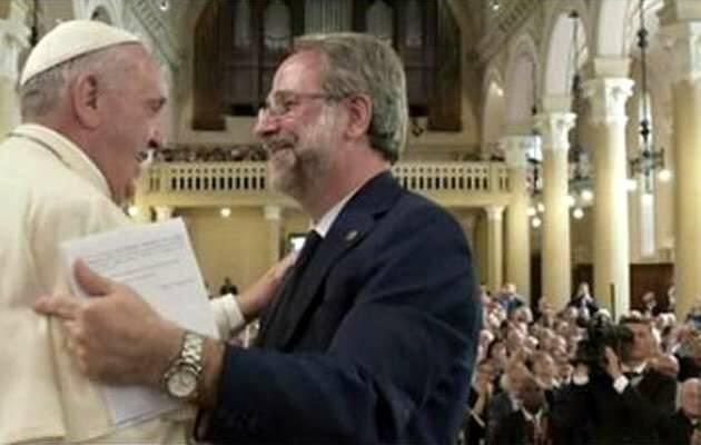 El Papa en su visita a la Iglesia valdense italiana / RD,papa Francisco, metodistas valdenses