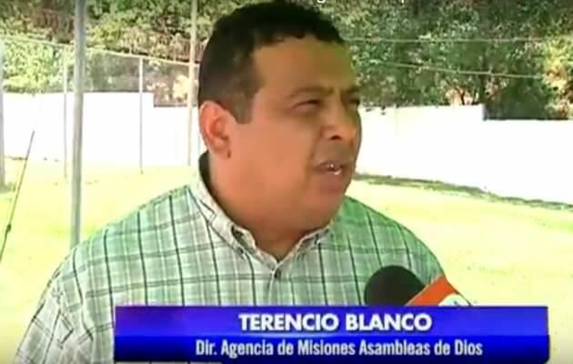 El pastor Terencio Blanco (Asambleas de Dios de Nicaragua),pastor Terencio Blanco, Asambleas de Dios Nicaragua
