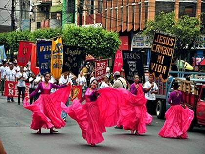 Un momento de la marcha para Jesús 2016 en Ecuador / Mundo Cristiano,Marcha para Jesús, Ecuador