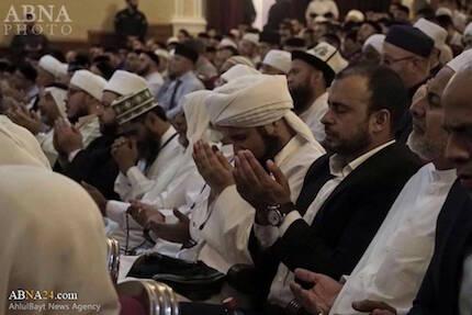 La conferencia reunió a principales religiosos islámicos de países como Egipto, Túnez o Sudán. / Abna24