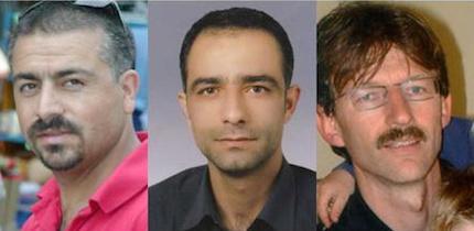 Los tres mártires de Malatya: Necati Aydin, Ugur Yuksel y Tilmann Geske.