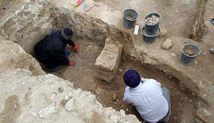La excavación en Laquis, una de las principales ciudades durante el reinado de Ezequías (siglo 8 a.C.) / IAA
