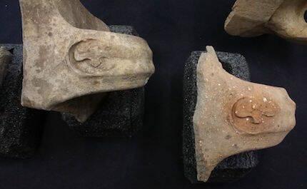 El sello de Ezequías aparece en los mangos de ollas y vasijas de la época. / IAA