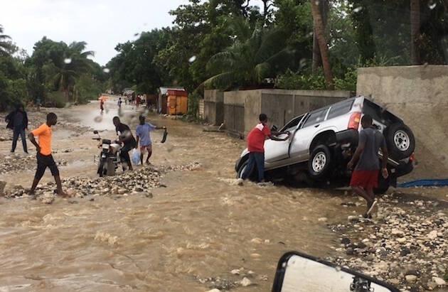 Calles de Haití tras el paso del huracán Matthew. / Samaritan's Purse,haiti