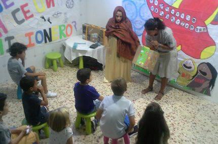 Los niños también aprendieron sobre misiones.