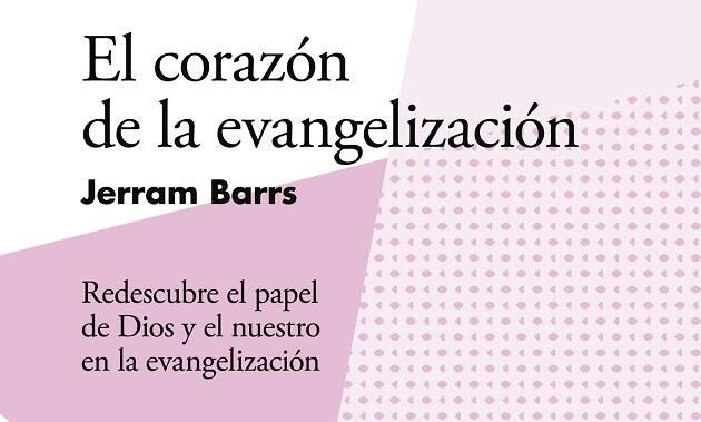 Detalle de la portada del libro. ,jerram barrs, evangelización