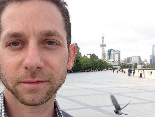 Ryan Keating, estudiante de doctorado en la Universidad de Ankara. / WWM,