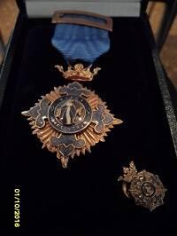 La medalla. / CEAA