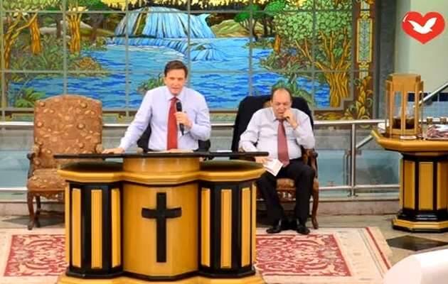 Crivella habla en un templo de la IURD (22/09/13) en Recreio dos Bandeirantes (Brasil) / IURD,Marcelo Crivella, IURD