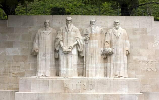 El Muro de los reformadores, en Ginebra,Muro reformadores, Ginebra