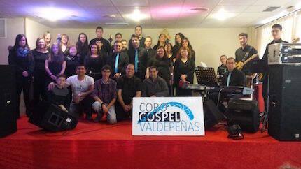 El Coro Gospel de Valdepeñas.