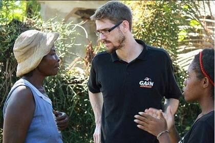 Miqueas Forster formó parte del equipo que viajó a Haití en octubre de 2016. / GAiN España