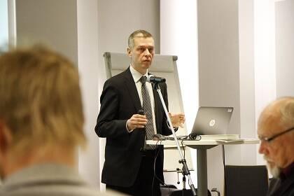 Kimmo Ketola, director del  del Instituto de Investigación de la Iglesia. / Uusi Tie