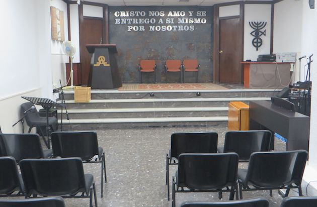 Local de la Iglesia Evangélica del Paral·lel.,