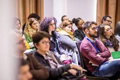 Asistentes a uno de los seminarios de GBG 2016. / J.P. Serrano