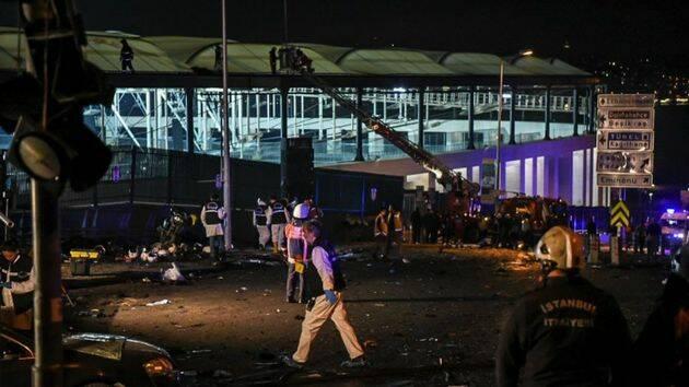 Doble atentado en Estambul./ Reuters,