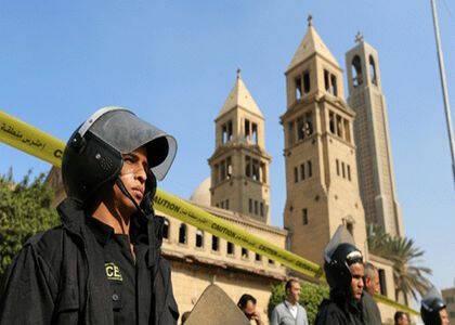 Cientos de cristianos coptos se manifestaron tras el atentado pidiendo al Gobierno que refuerce la seguridad. / Egypt Daily News