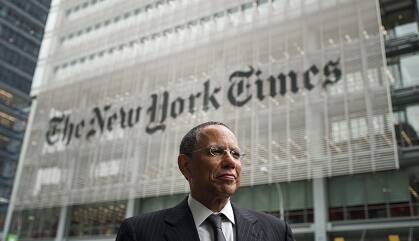 Dean Baquet, director ejecutivo del New York Times.
