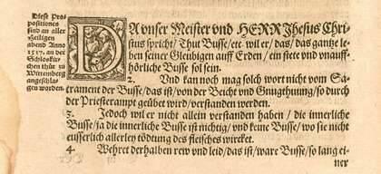 Detalle de una de las tesis en el documento original