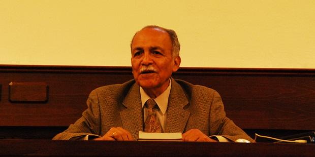 <p> El te&oacute;logo Samuel Escobar. / Hector Rivas</p> ,