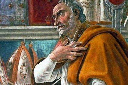 Agustín de Hipona, el teólogo más importante en la historia de la Iglesia.