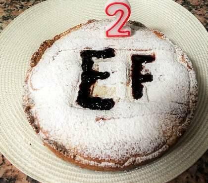 Y la tarta de cumpleaños ;-)