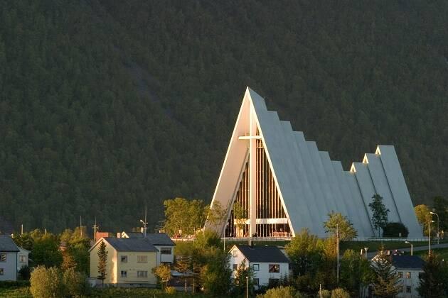 La catedral de  Tromsoe, en Noruega. / Wikimedia,
