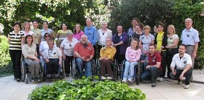 Participantes en el encuentro de la European Disability Network meeting en Budapest.